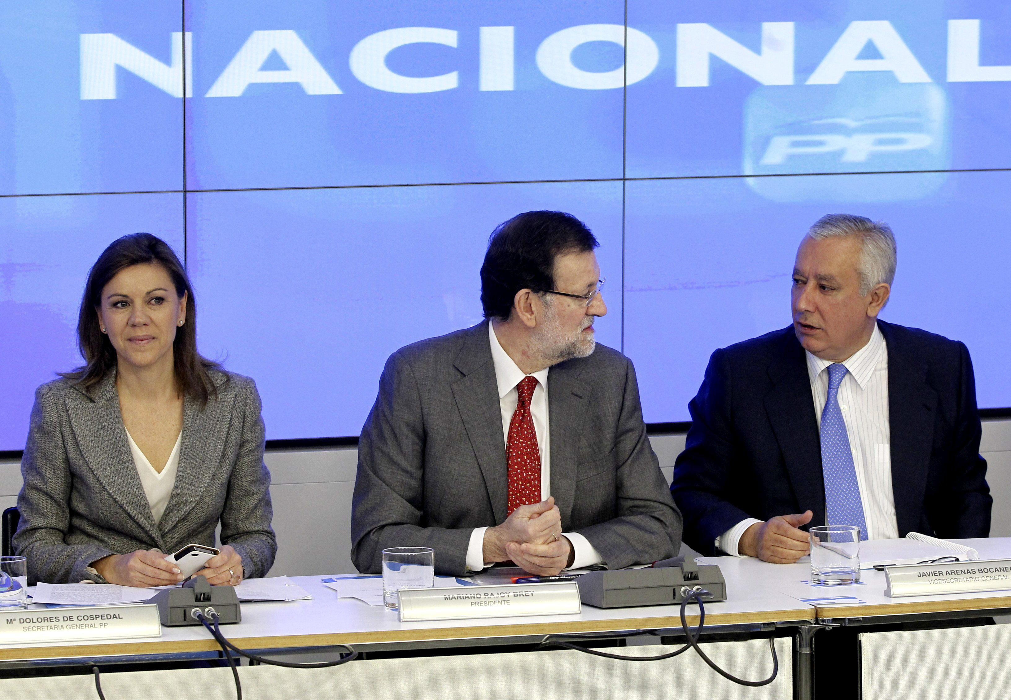 Rajoy reúne al Comité del PP para explicar la estrategia de las Europeas