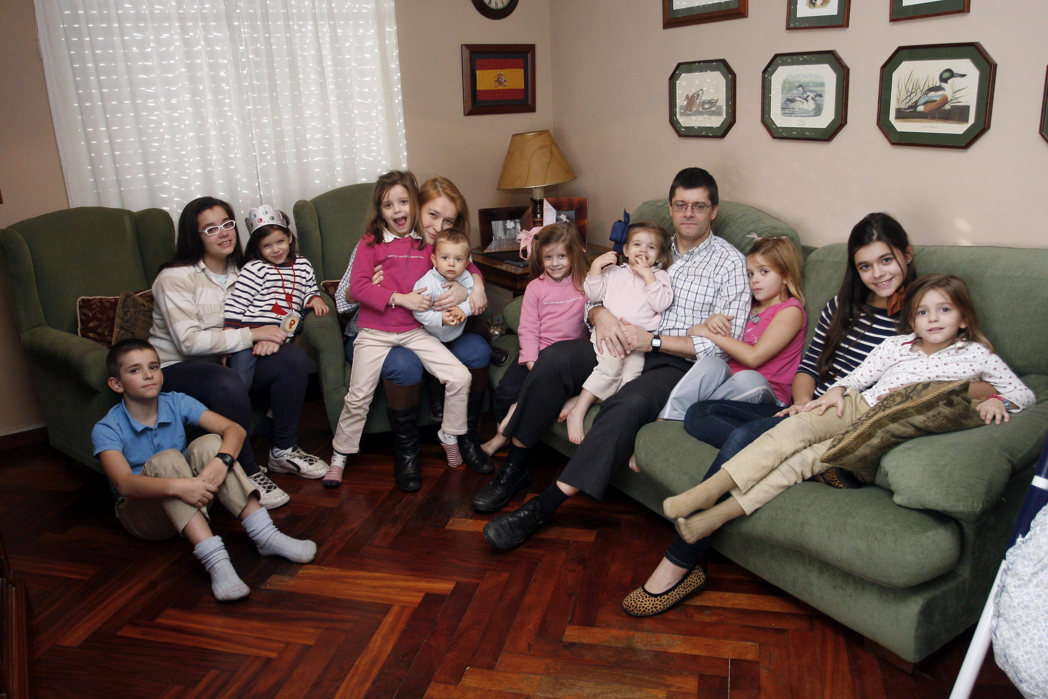 España maltrata a las familias numerosas