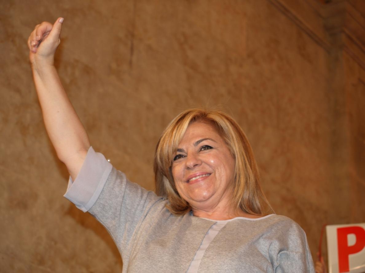 Diputados socialistas despiden a Valenciano en su último pleno antes del 25M