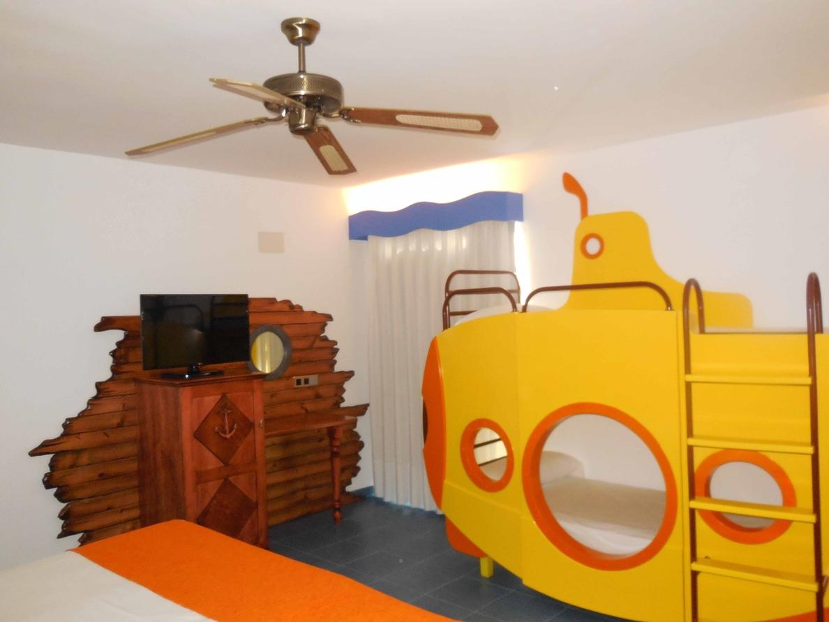 Cadena Playa Senator crea habitaciones temáticas sobre western, el mar o los dinosaurios en su hoteles