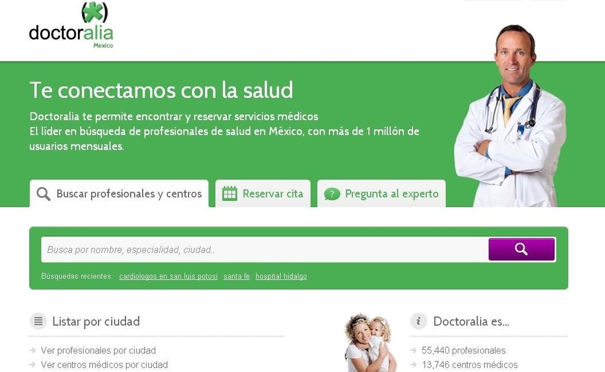Doctoralia se convierte en el mayor directorio médico en México