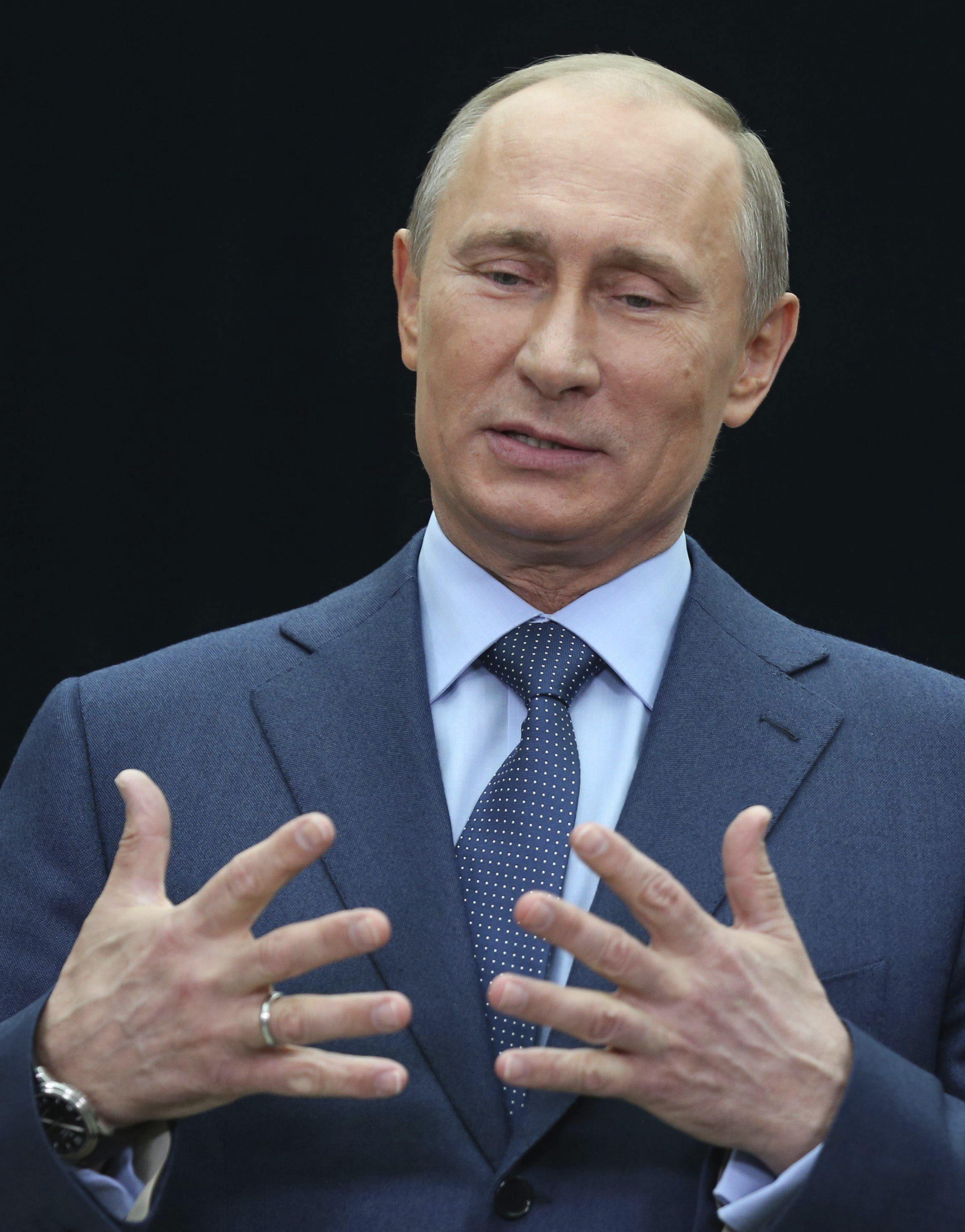 La popularidad de Putin aumenta tres puntos en un mes y alcanza cifras récord