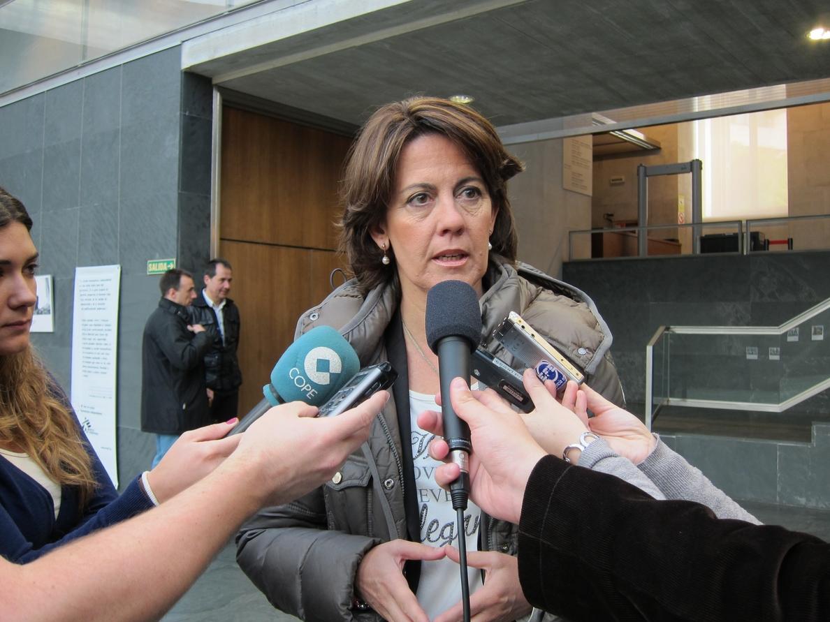 Barcina, sobre la polémica de Cañete: «A mí me han dicho cosas que nunca le hubiesen dicho a un hombre»