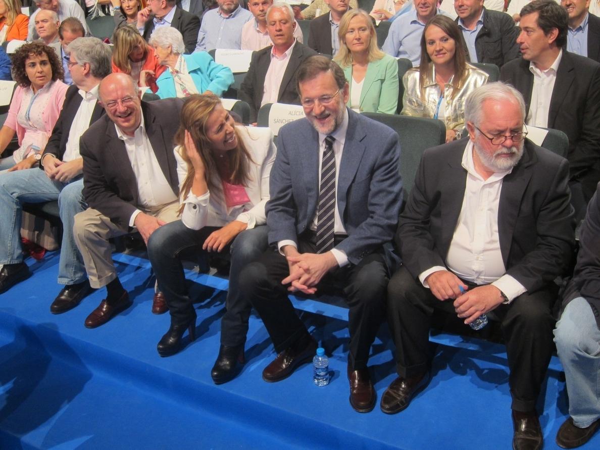 Camacho dice que Catalunya necesita «más que nunca» a Rajoy para impedir la consulta