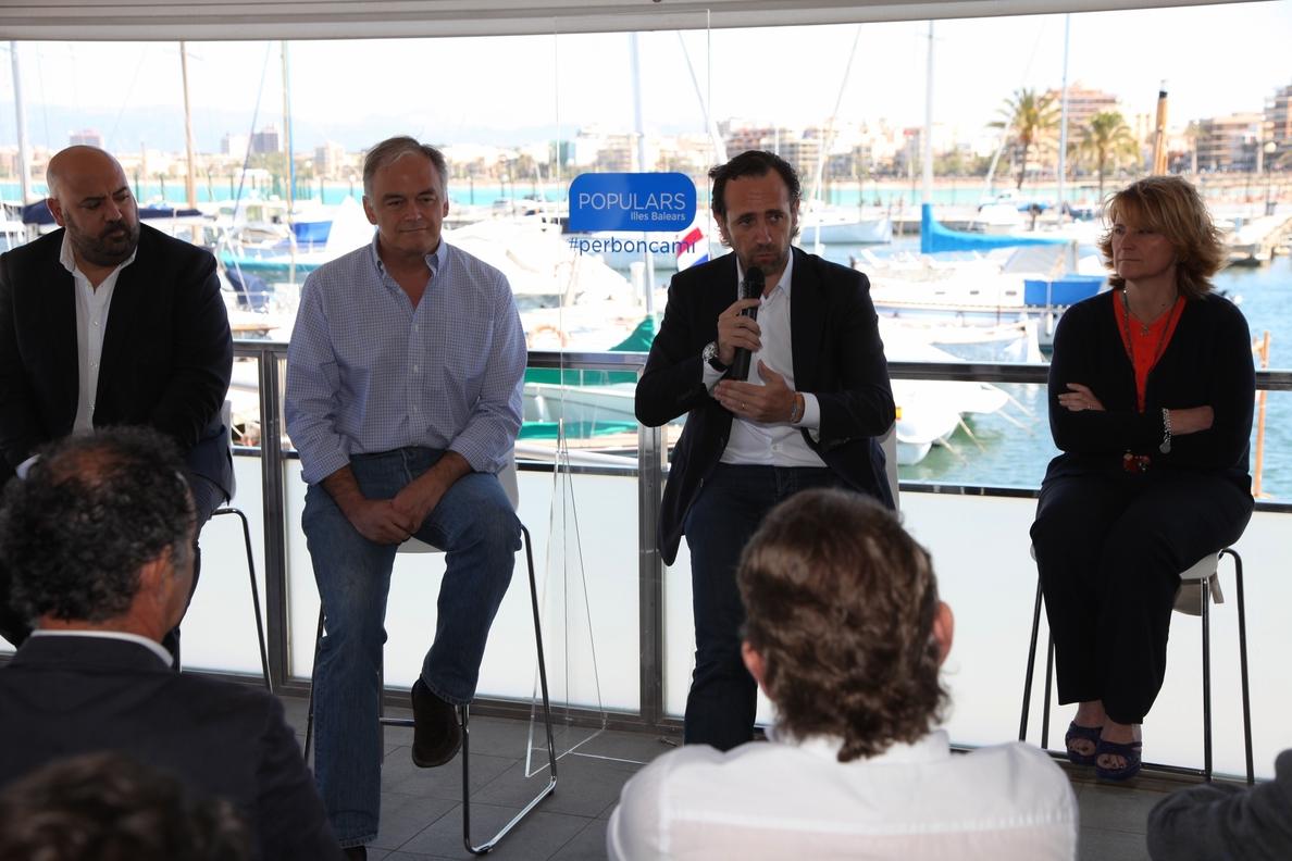 González Pons: «Zapatero dejó tantas facturas sin pagar, que al abrir los cajones, nos mordían los cocodrilos»