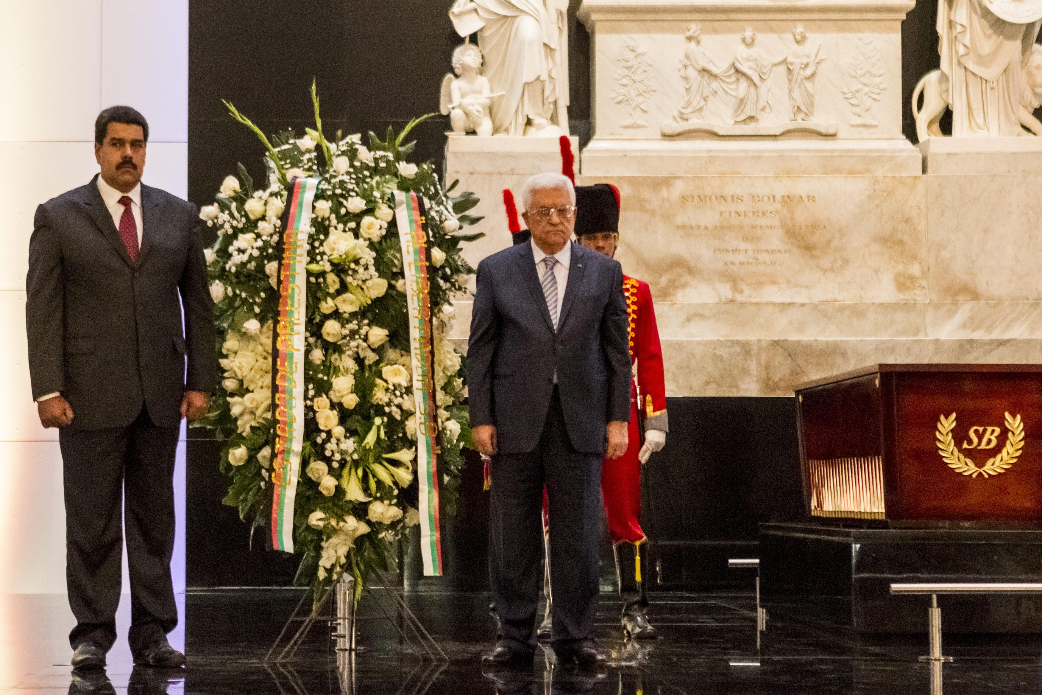 Maduro subraya el derecho de Palestina a ser visible y reconocido como Estado