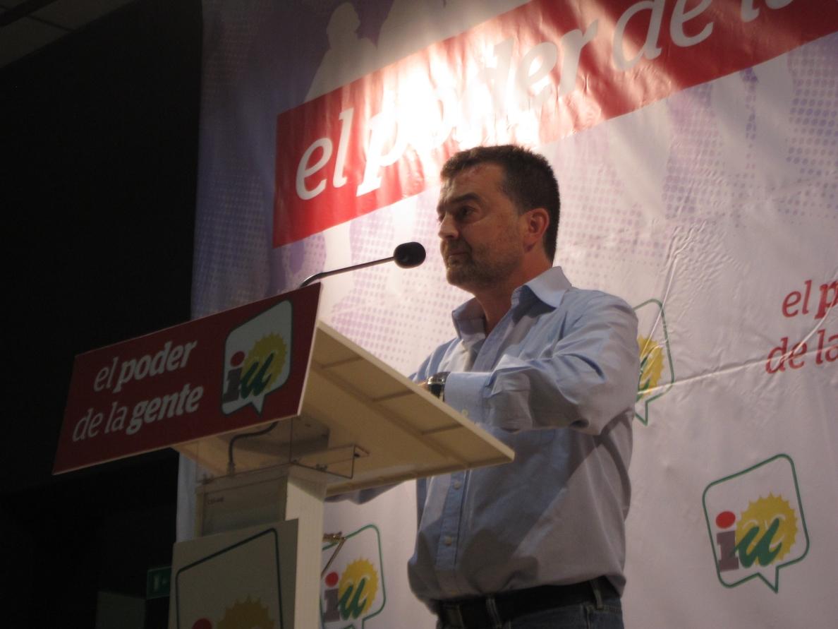 Maíllo llama a lograr en Europa «la fisura del bipartidismo» conseguida en Andalucía