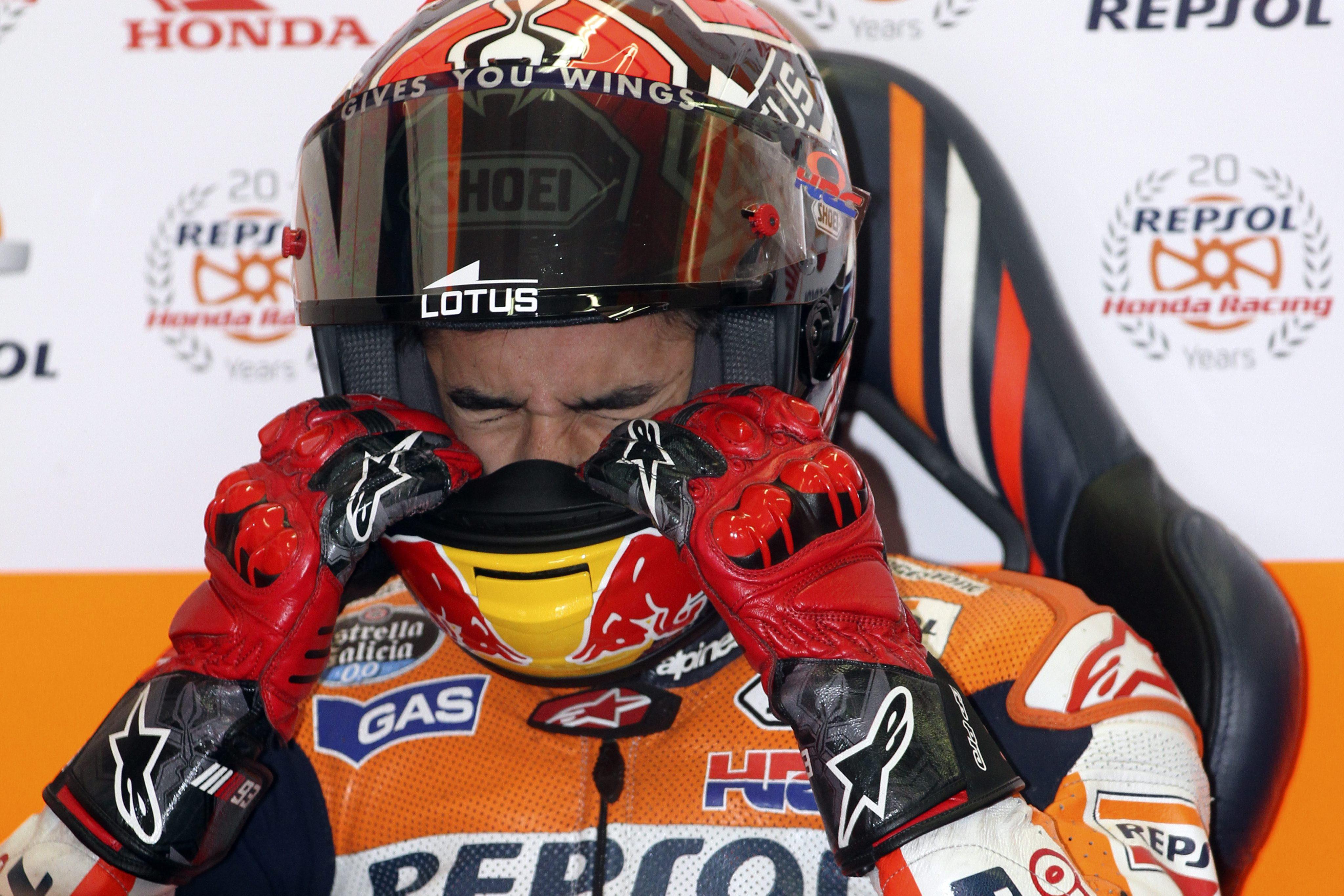 Márquez logra su quinta »pole» consecutiva en la categoría reina