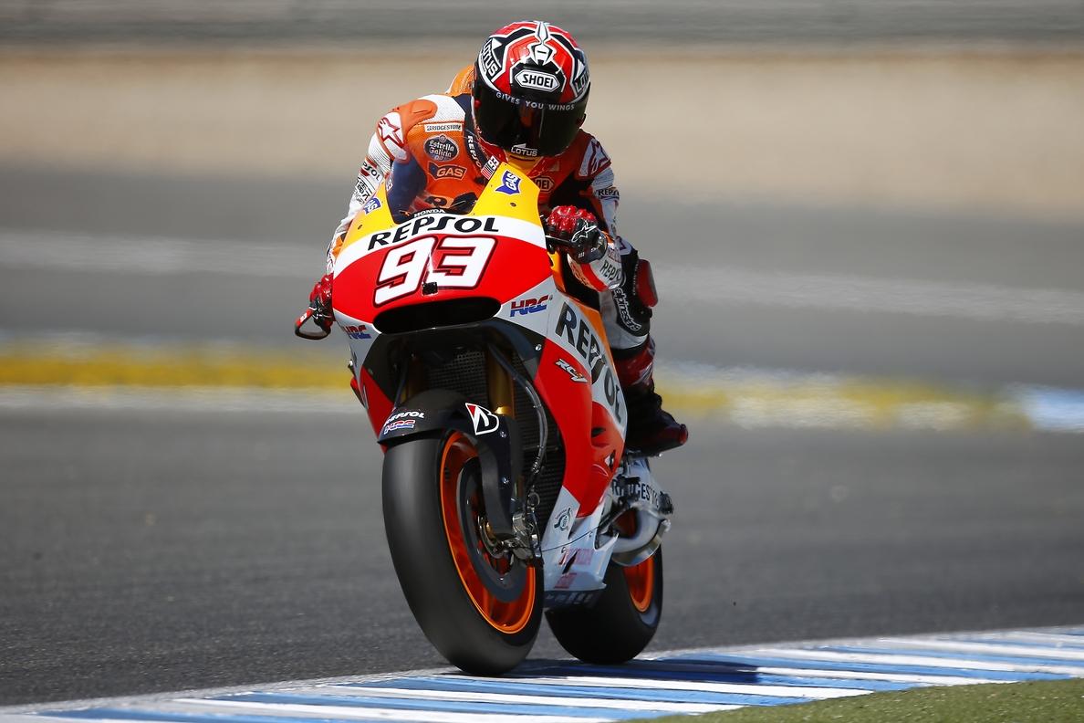 Márquez pulveriza el récord de Le Mans y saldrá desde la pole