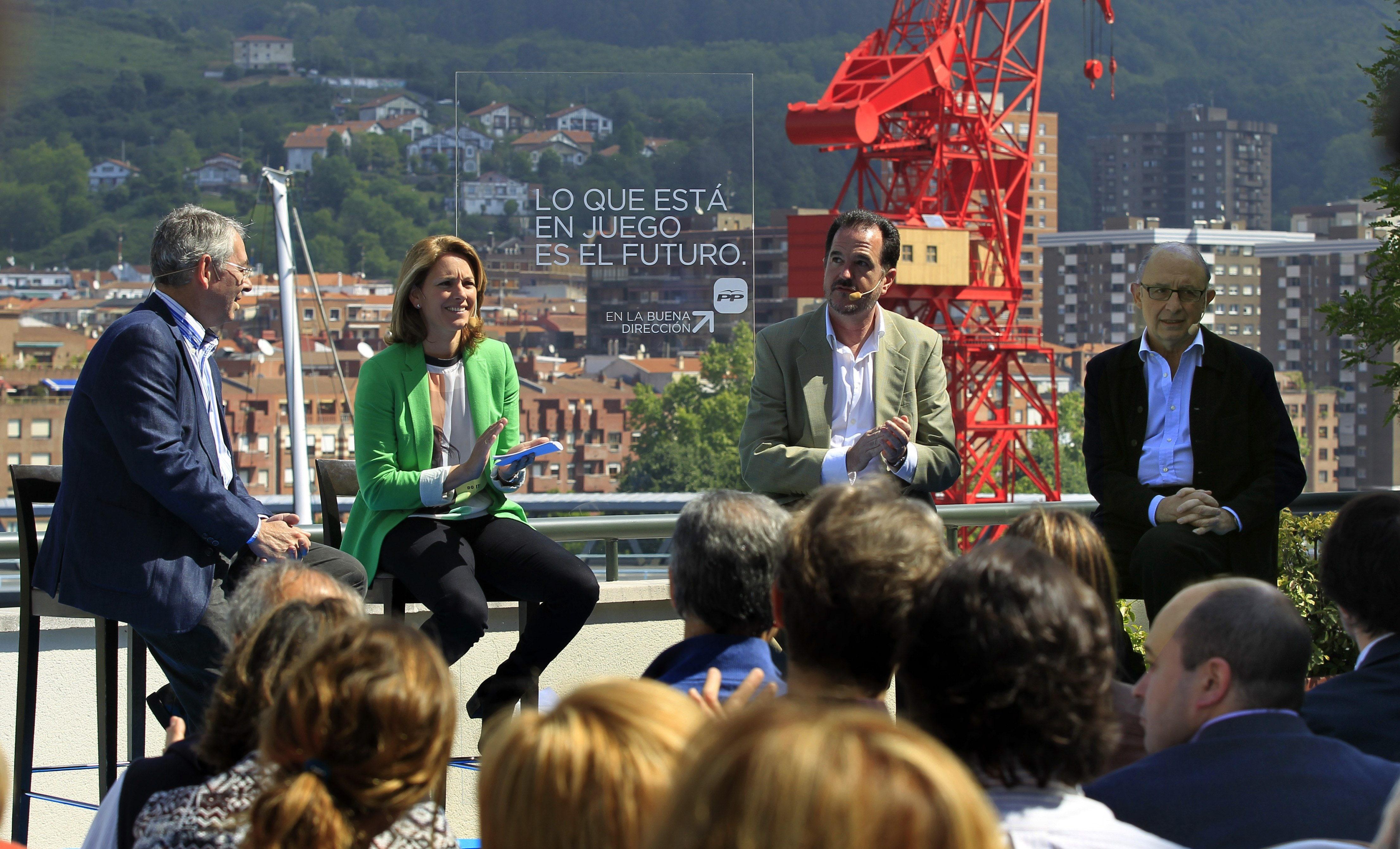 Montoro dice que apoyar al PP es «apoyar la recuperación económica»