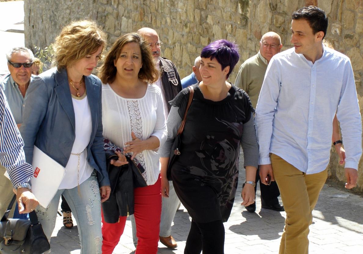 25M- PSE dice que Euskadi no se defiende en la UE «desde la bandera» e insta a «beneficiarse» de la solidaridad europea