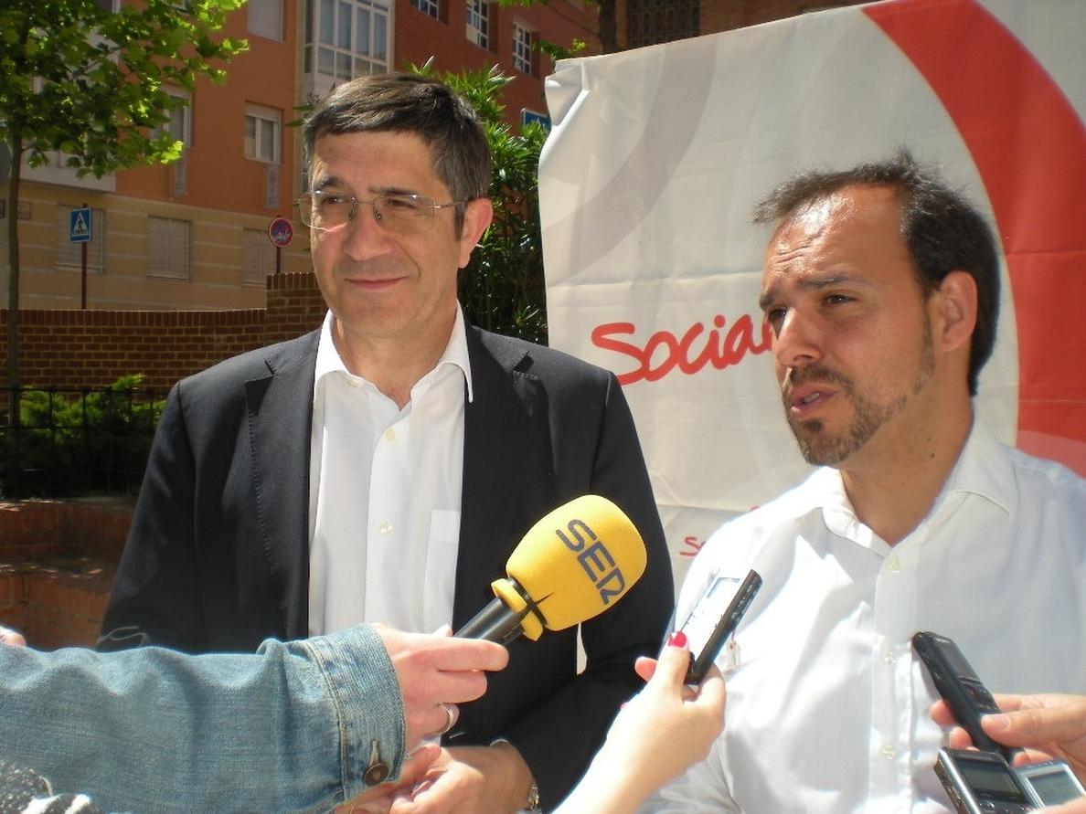 Patxi López (PSOE) pide el voto para «castigar» a quienes «están arruinando España»