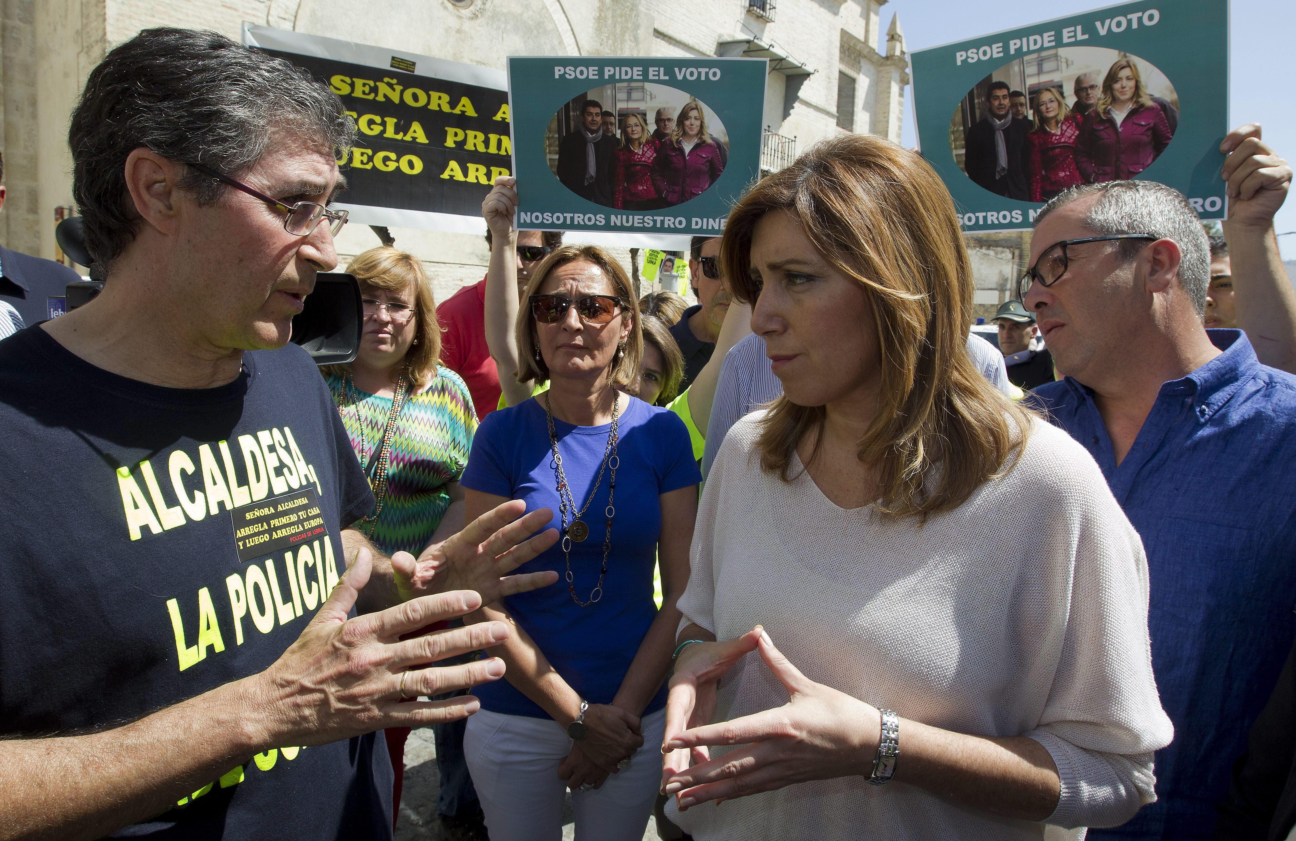 Susana Díaz censura el «machismo» de Arias Cañete y la «indolencia» de Rajoy