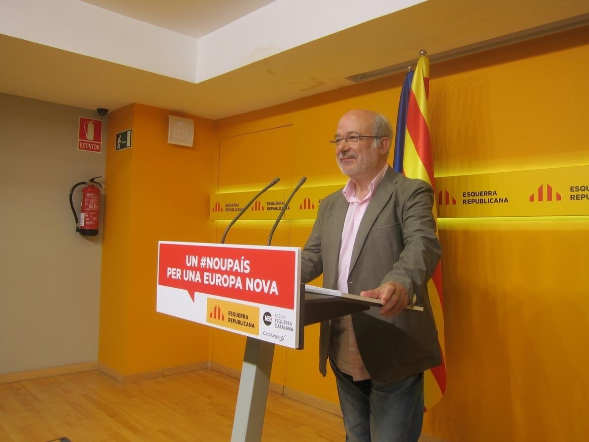 Terricabras (ERC) no se «preocuparía exageradamente» si Cataluña queda fuera de la UE