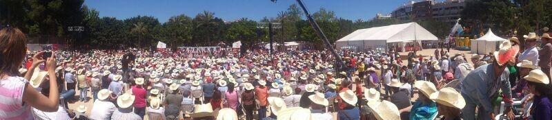 Valenciano dice que no parará hasta erradicar paraísos fiscales y echar a una derecha que «no cree en la igualdad»