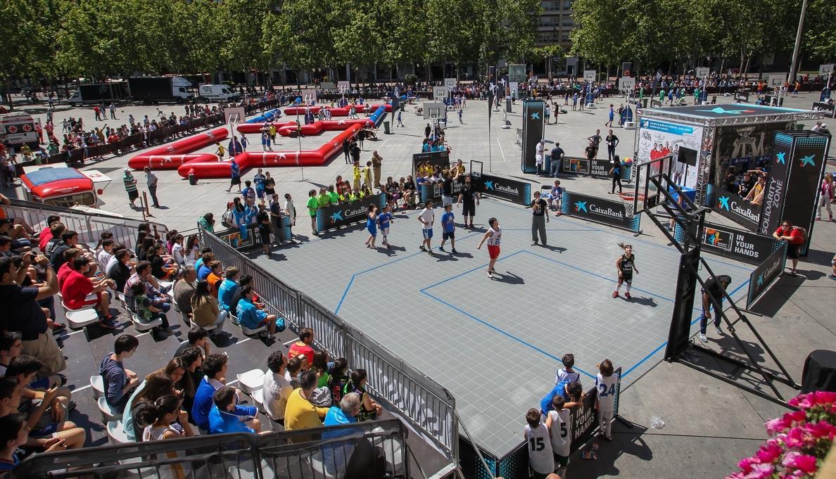 El baloncesto riojano crece con la actividad »Plaza 2014»