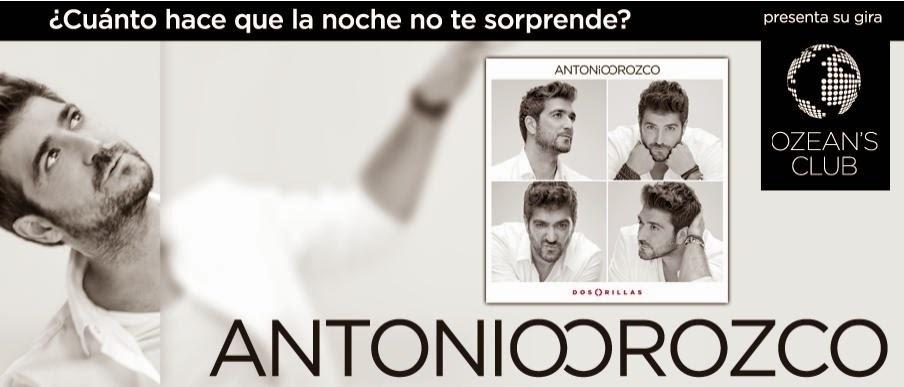 Antonio Orozco actuará el 19 de julio en el Gran Canaria Arena