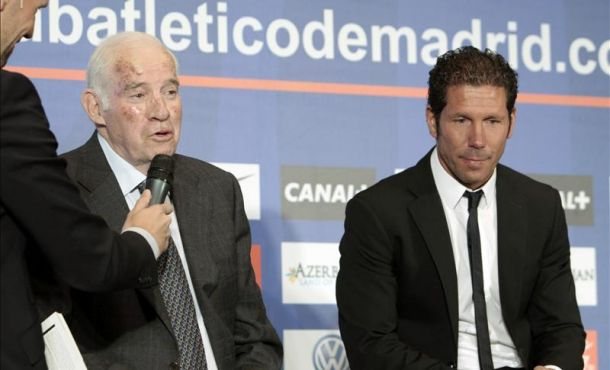 Simeone ya es el segundo entrenador más laureado del Atlético