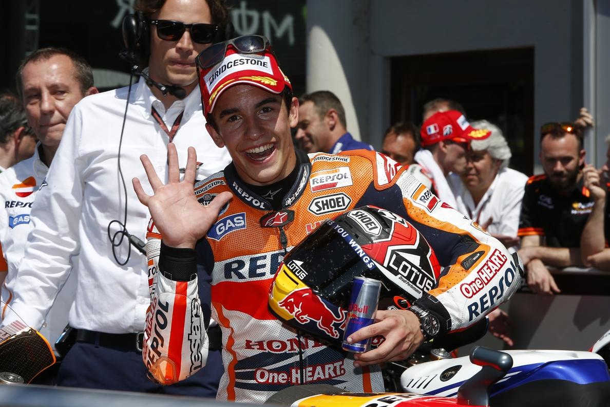 Márquez: «Ha sido una victoria diferente»