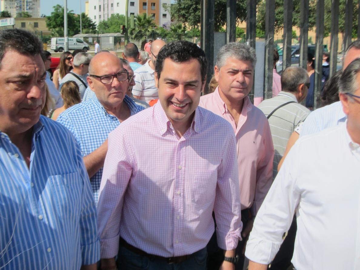 Moreno pide un «voto comprometido» para el PP para vencer el «posible empate» con el PSOE que indican las encuestas