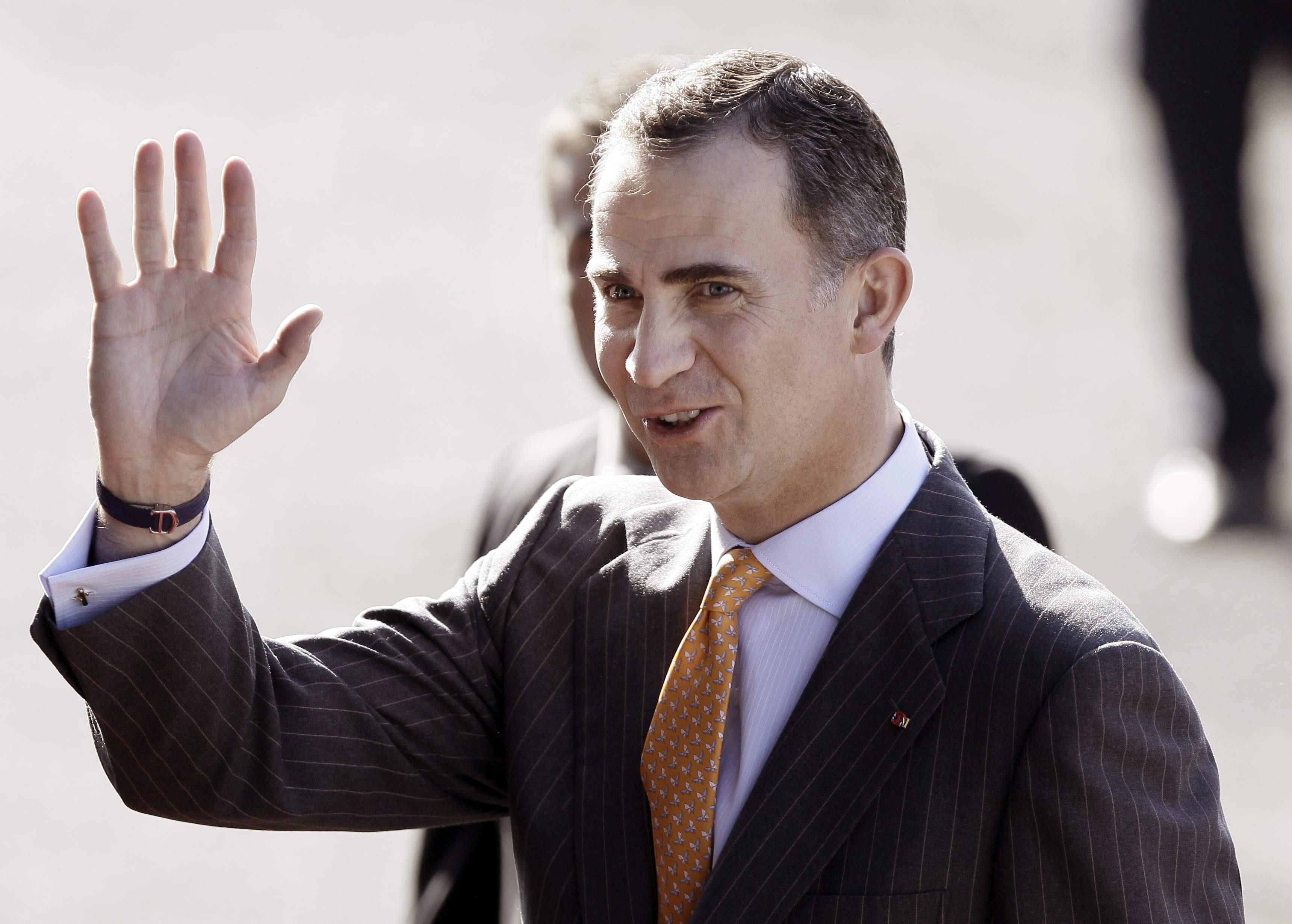 El Príncipe visita mañana Bilbao y el Rey estará el martes en Vitoria