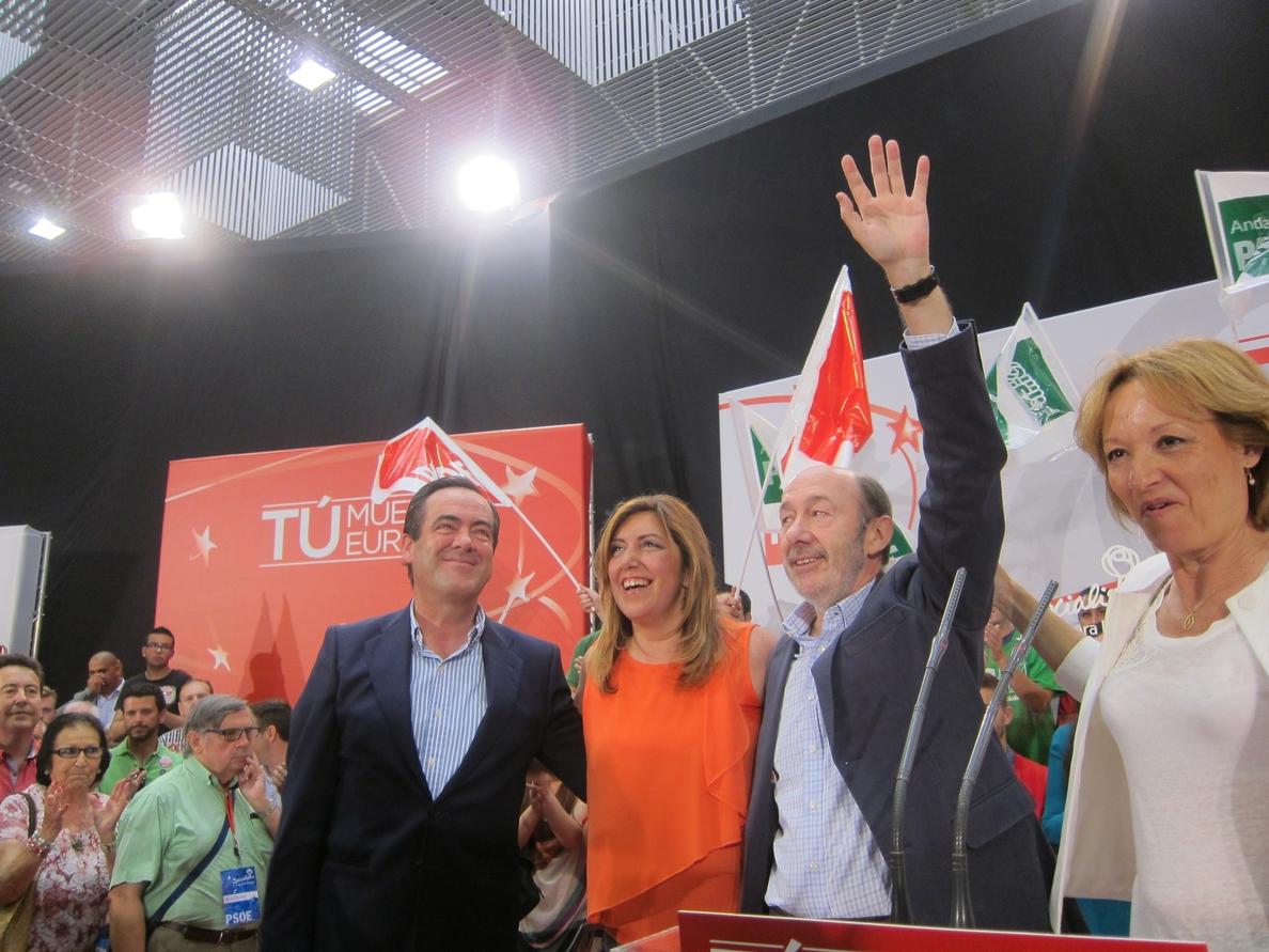 Rubalcaba replica a Rajoy que Cañete «es el mejor» para definir el carácter «soberbio y machista» del PP
