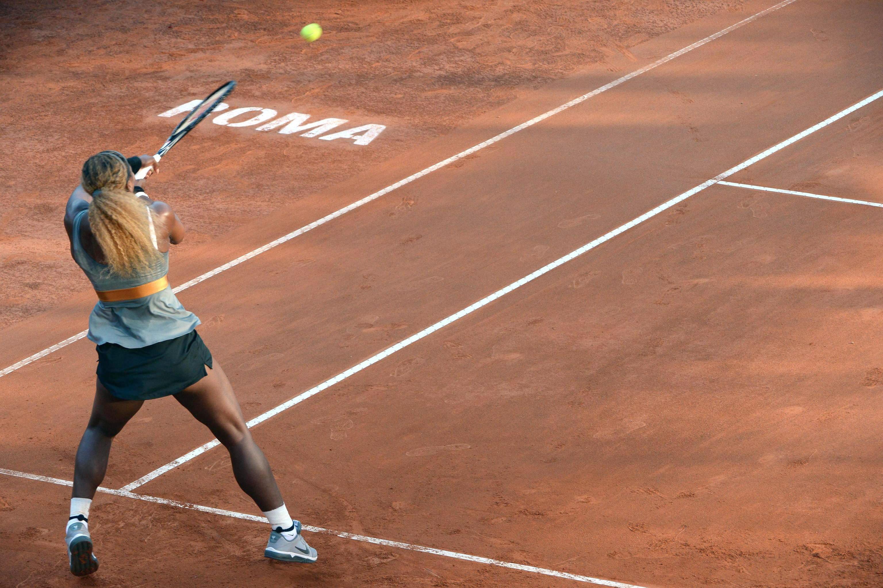 Serena Williams conquista su tercer Abierto de Italia y el 60 de su carrera