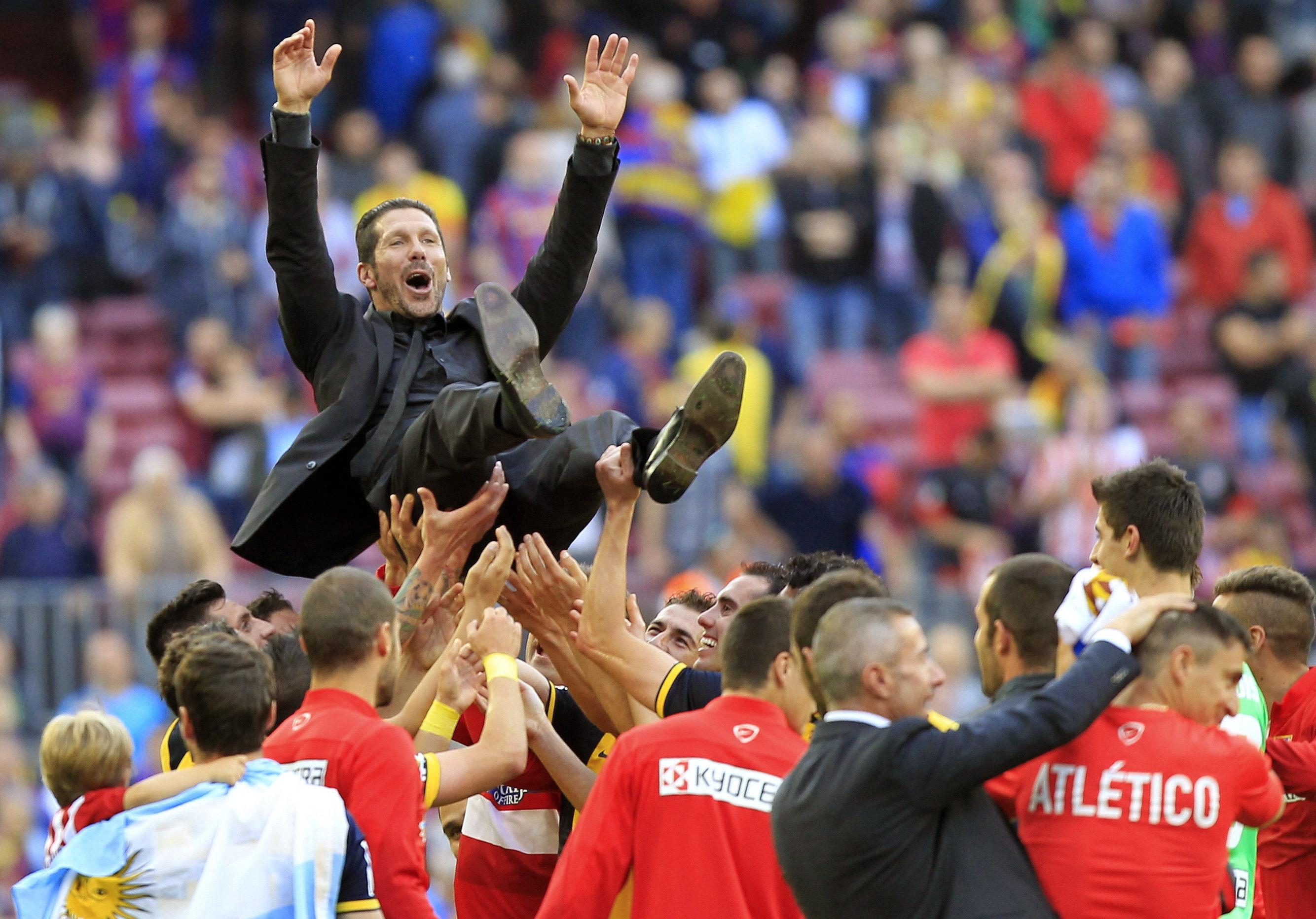El Atlético campeón lleva 6 titulos en cuatro años