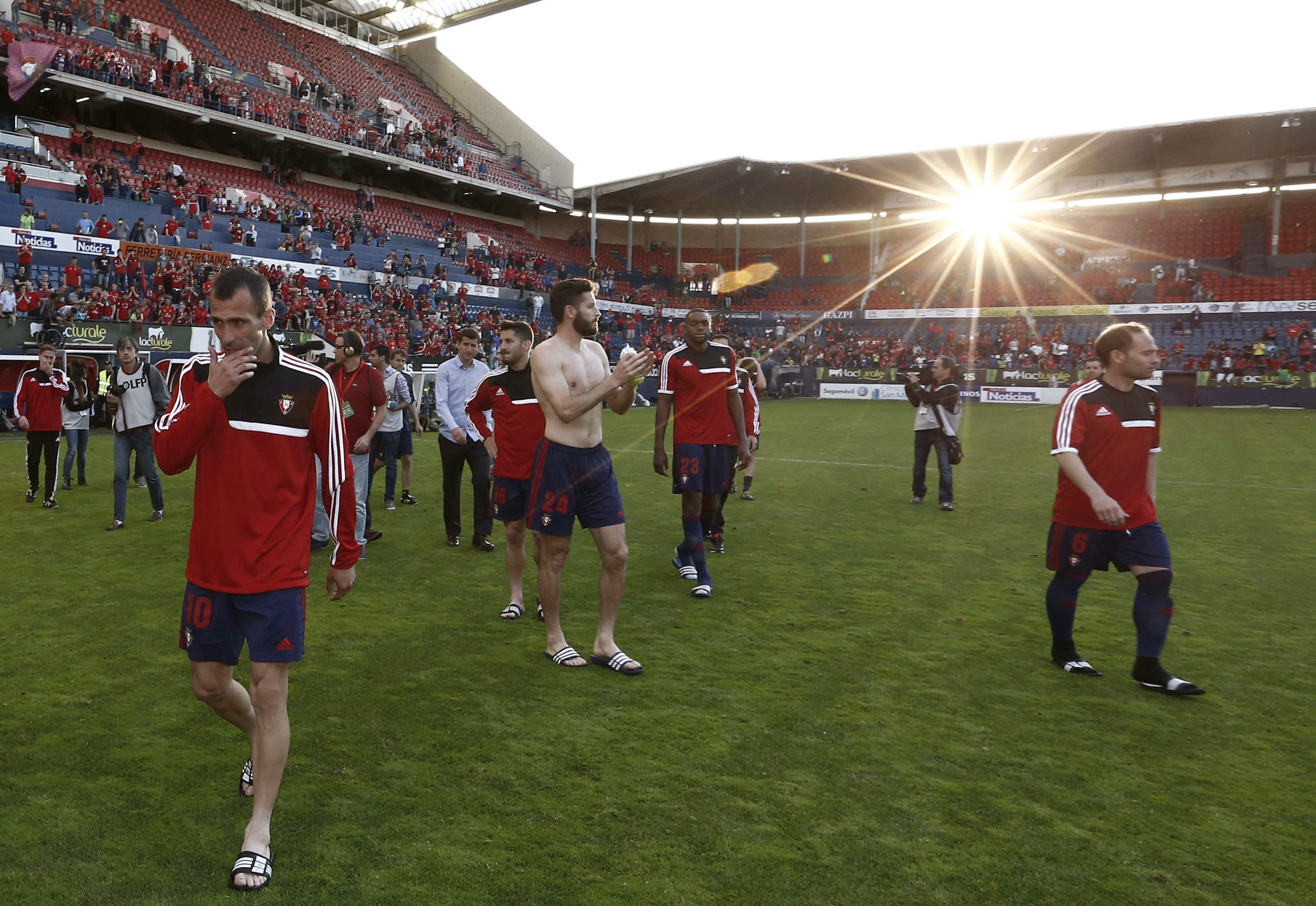Patxi Puñal, capitán de Osasuna, »cuelga las botas» tras 17 años en el club