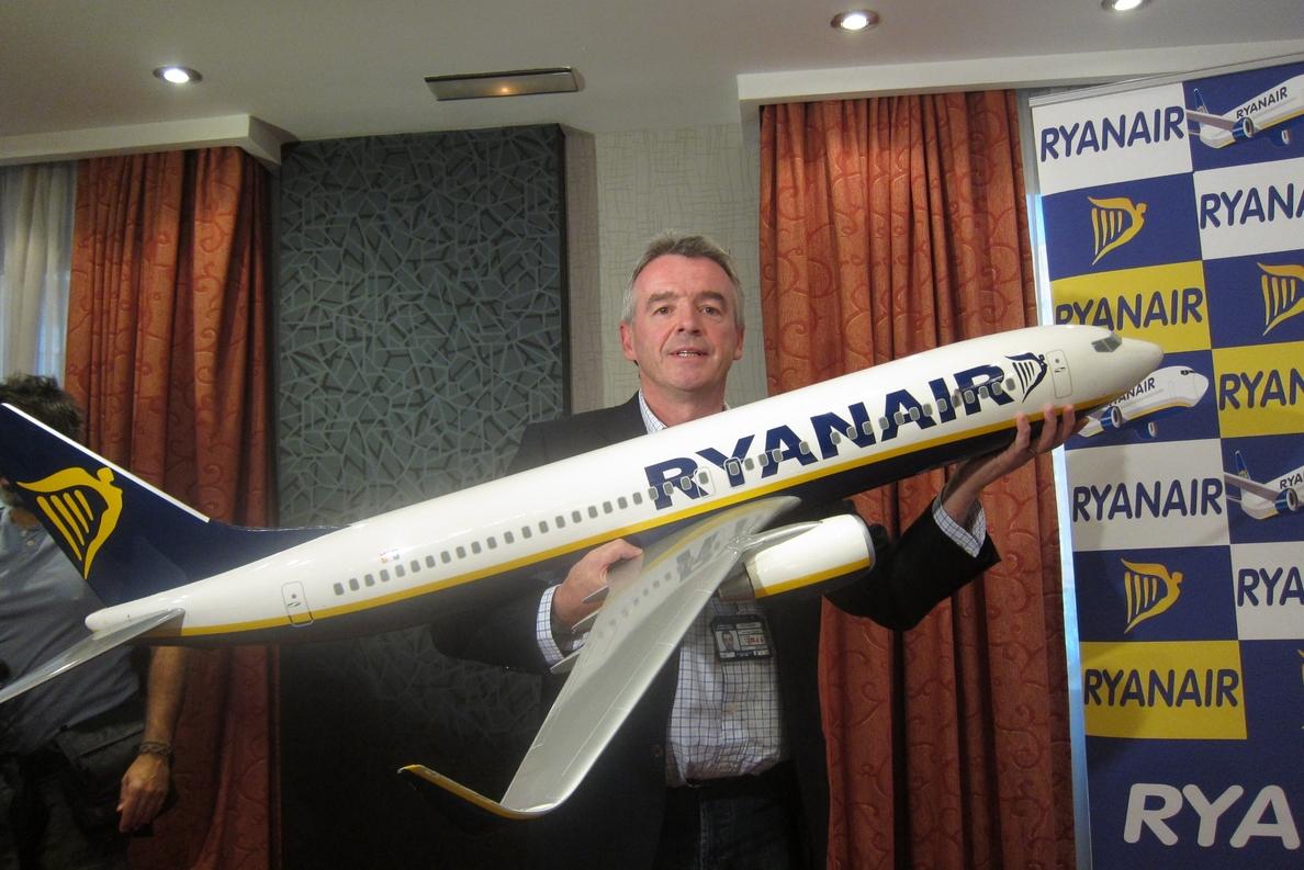 Ryanair gana 522,8 millones en su ejercicio fiscal 2013-2014, un 8% menos