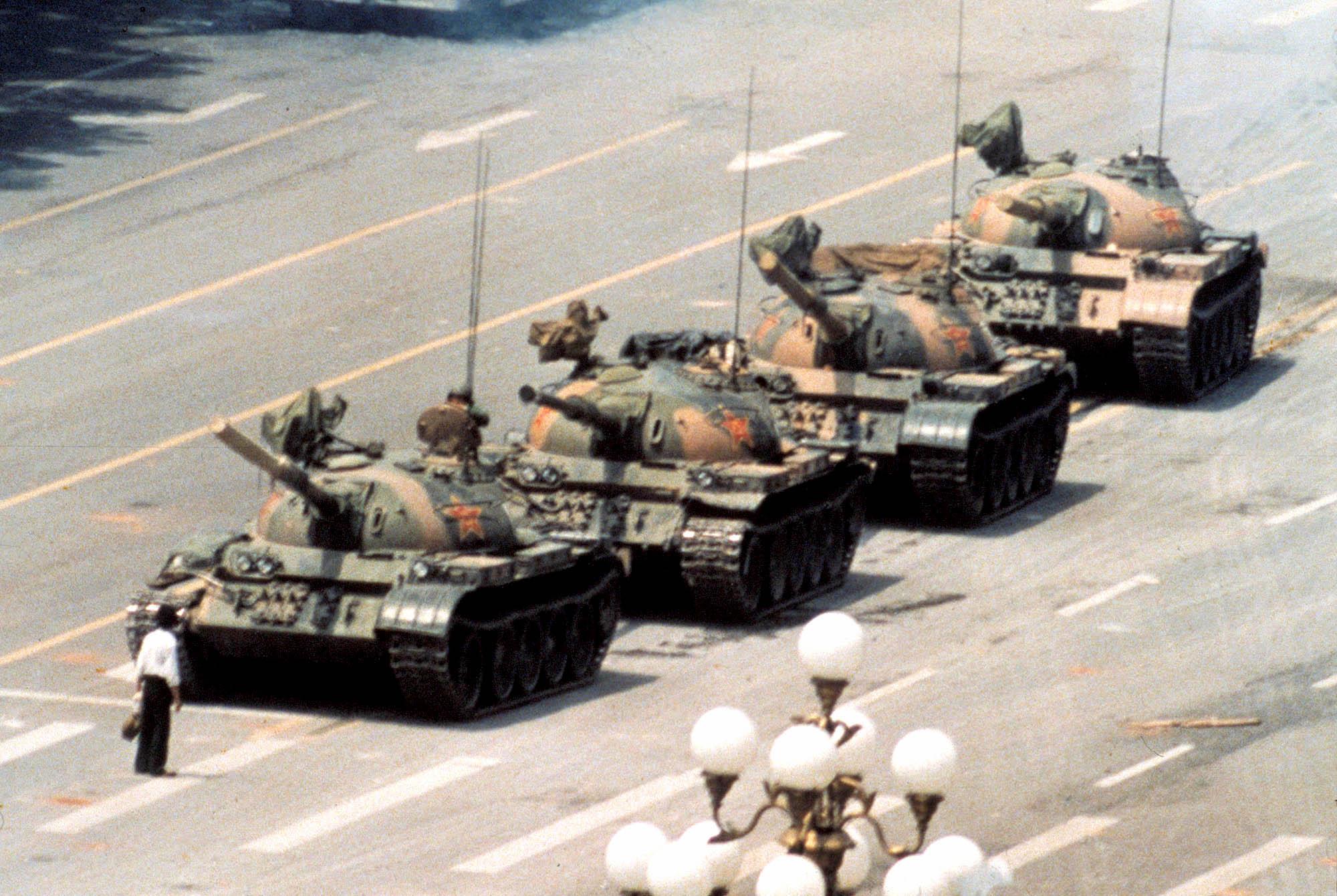 ¿Quién es el hombre del tanque de la plaza de Tiananmen?