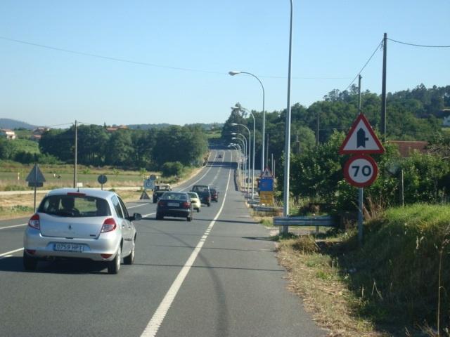 Un atropello en Pontevedra deja ocho herdios, dos de ellos graves