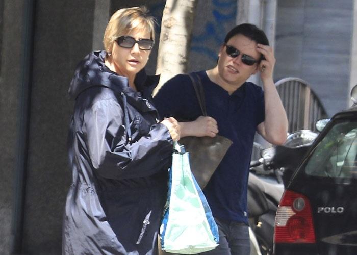 Gloria Serra y su pareja Nacho, felices en la dulce espera