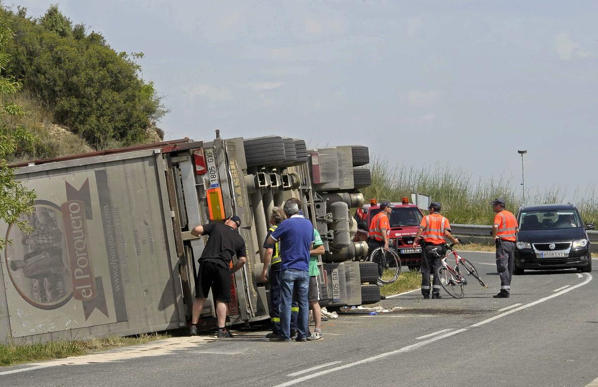 24 ciclistas han muerto en la carretera en lo que va de 2014, seis más que el pasado año