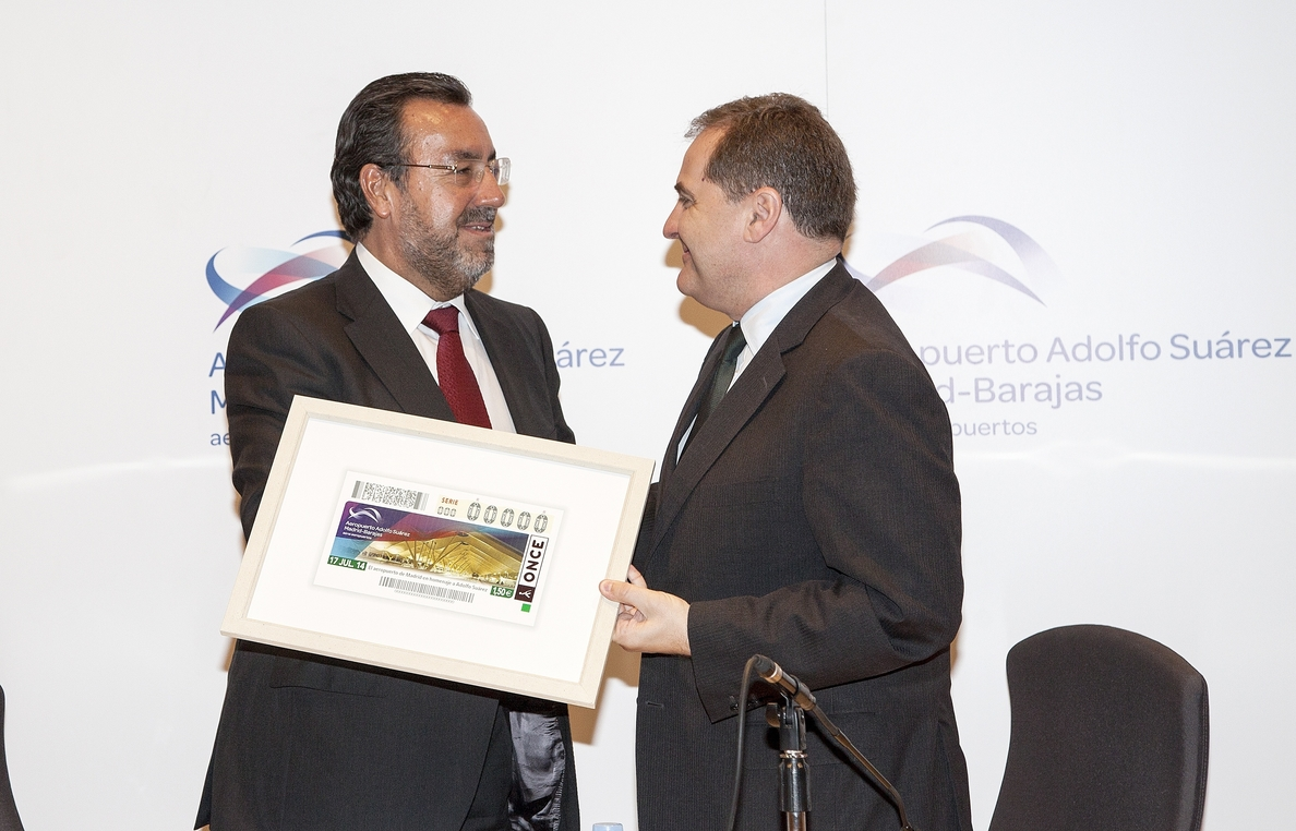 El Aeropuerto Adolfo Suárez-Madrid Barajas protagonizará el cupón de la ONCE del 17 de julio