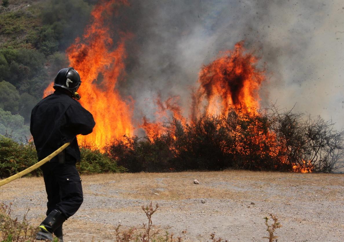 Apagado el incendio forestal de Ceuta tras arrasar 54 hectáreas