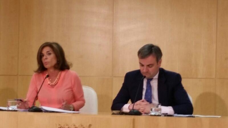 Botella sobre Aguirre y Podemos: «Una está en su derecho a expresar lo que vea conveniente y el otro a querellarse»
