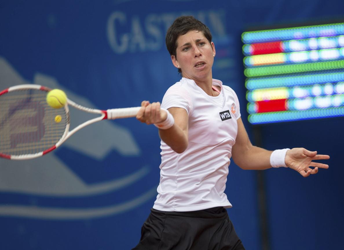 Carla Suárez cae eliminada en el torneo de Bad Gastein