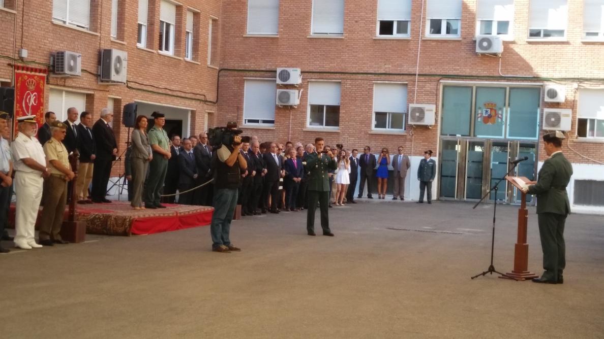 Crespo destaca la «encomiable» labor de la Guardia Civil y cómo se ha adaptado «a cada una de las sociedades»