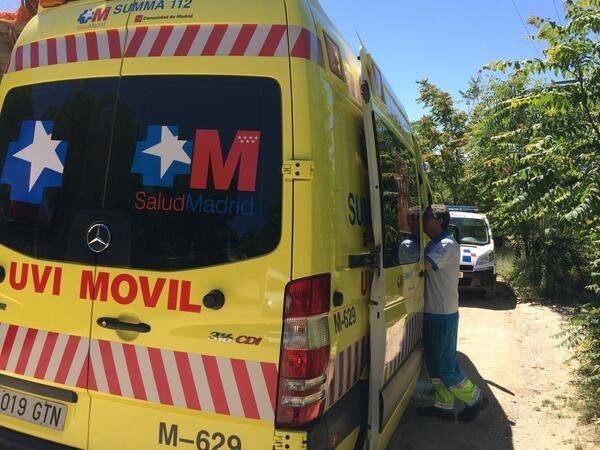 Fallece un trabajador tras caer desde una altura de 10 metros en un edificio en obras de Alcobendas
