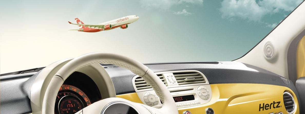 Hertz y Airberlin se alían para ofrecer productos y servicios exclusivos