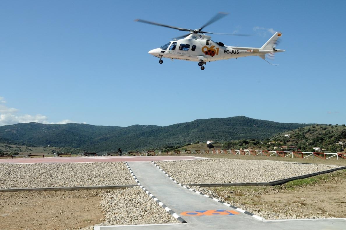 La Junta inicia la construcción de dos nuevos helipuertos del 061 ubicados en Badolatosa y Constantina