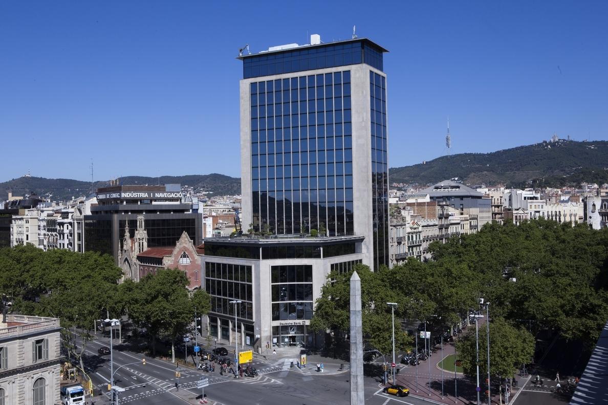 KKH compra el edifico conocido como Deutsche Bank de Barcelona y lo convertirá en un hotel de lujo