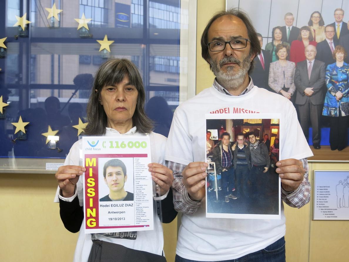 Marcha ciclista por el joven desaparecido Hodei Egiluz recorrerá Bélgica y Holanda