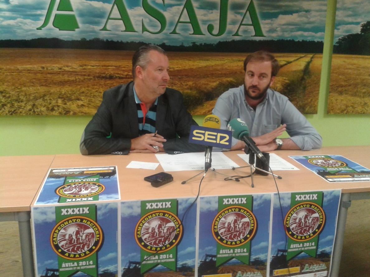 Riocabado (Ávila) acogerá en septiembre el Campeona Nacional de Arada que reunirá a los mejores trasctoristas del país