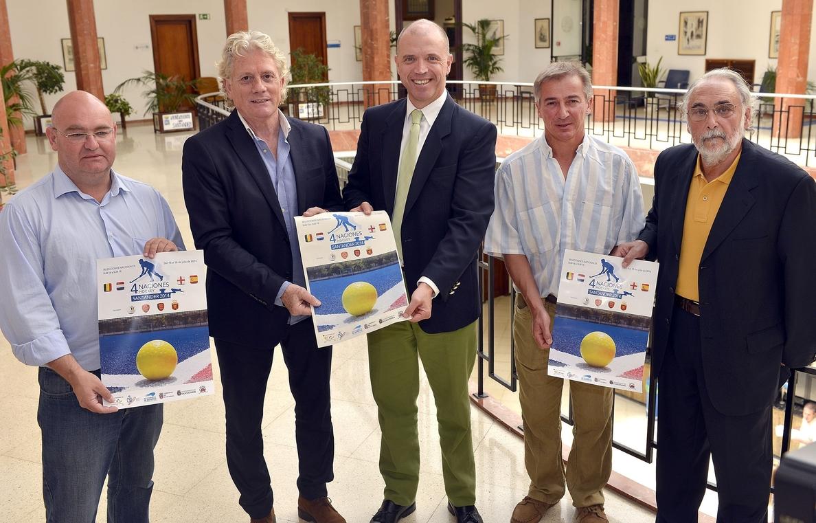 Santander acoge del 14 al 18 de julio el torneo internacional »4 naciones» masculino de hockey hierba