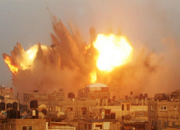 Ascienden a 118 los muertos y más de 900 heridos en la ofensiva israelí sobre Gaza