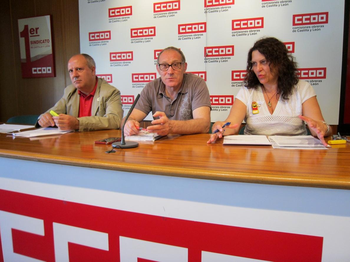CC.OO alerta de la pérdida de 823 empleos en CyL en los próximos tres años si el Estado sigue bloqueando Correos