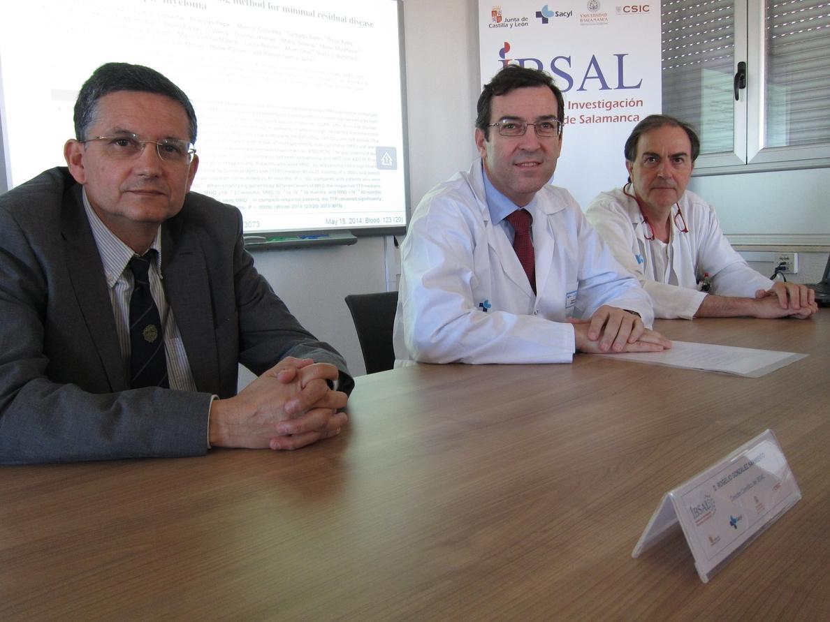 Investigadores del IBSAL de Salamanca desarrollan nueva tecnología a para tratar a pacientes con mieloma múltiple