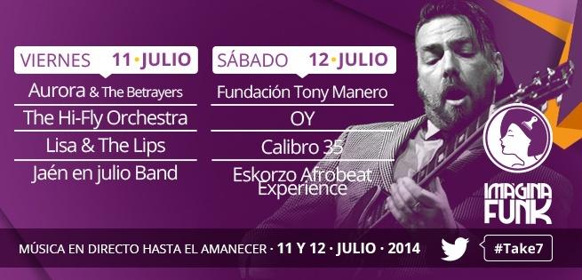 Torres (Jaén) acoge al Imágina Funk, el «único festival de funk del sur de Europa»